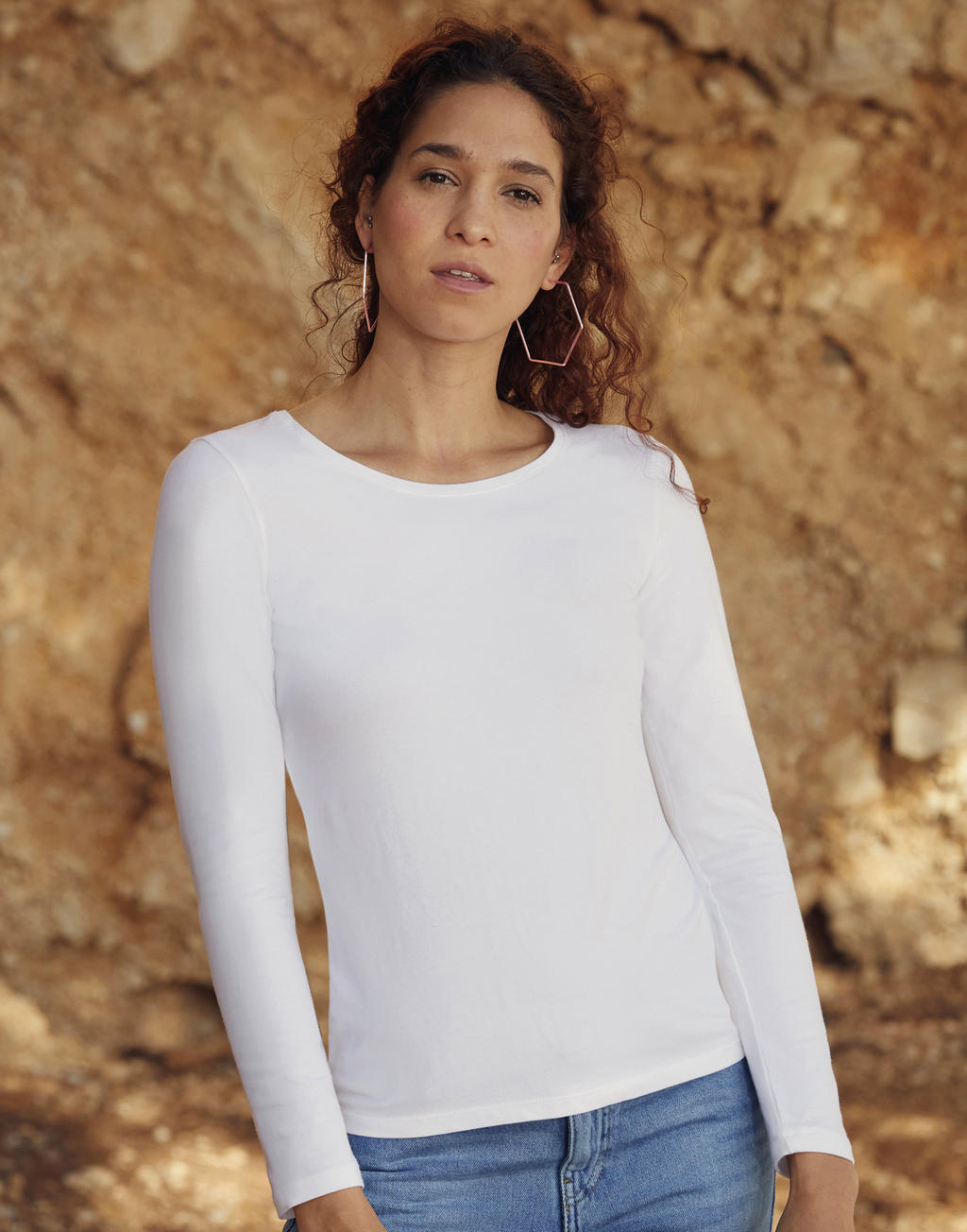 Fruit of the Loom Ladies Valueweight Long Sleeve T