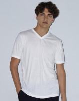American Apparel Unisex Sublimation V-Neck T-Shirt