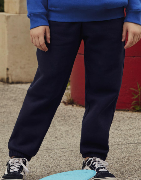 Fruit of the Loom Kids Premium Elasticated Cuff Jog Pants