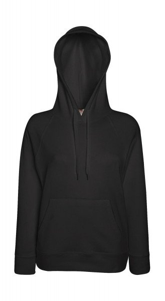 Fruit of the Loom Ladies Lightweight Hooded Sweat