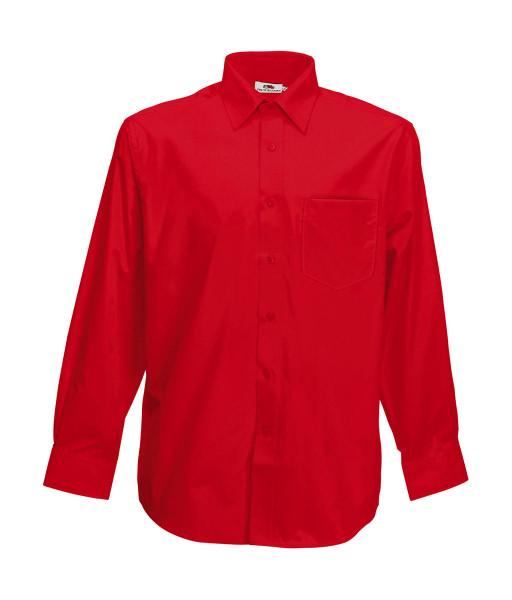 Fruit of the Loom Poplin Shirt Long Sleeve