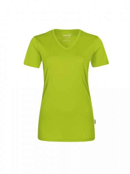HAKRO Damen-V-Shirt COOLMAX®