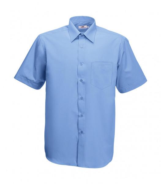 Fruit of the Loom Poplin Shirt Short Sleeve