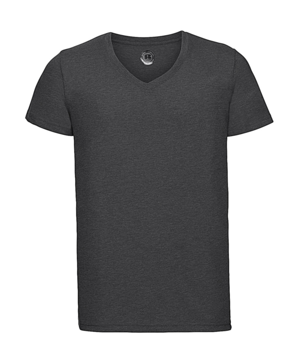 Russell Europe Men's V-Neck HD Tee