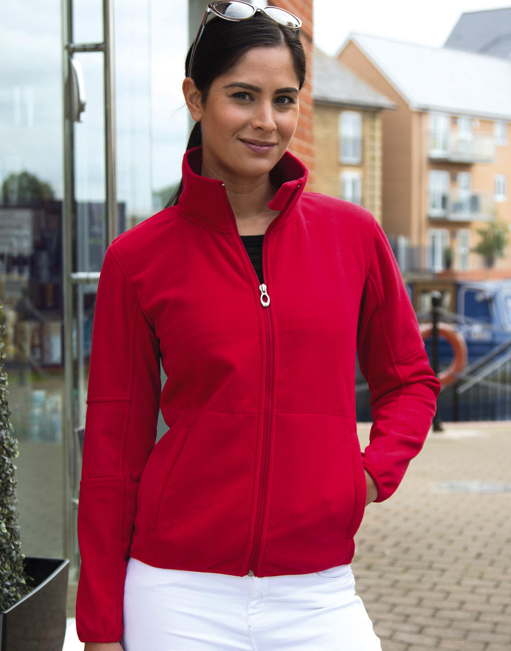 Result Ladies` Osaka Combed Pile Soft Shell
