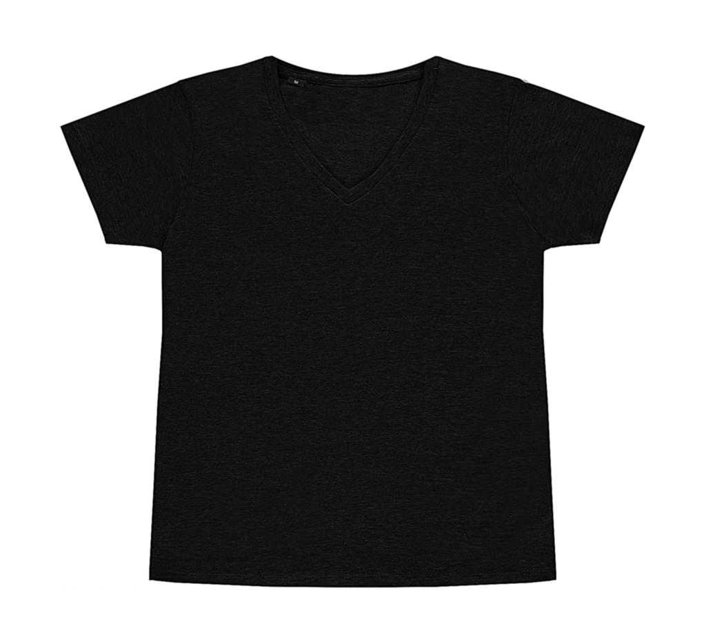 nakedshirt Veronique Women`s V-Neck T-Shirt