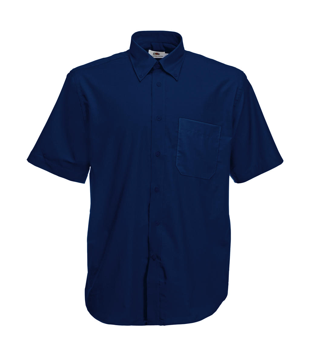 Fruit of the Loom Oxford Shirt Short Sleeve