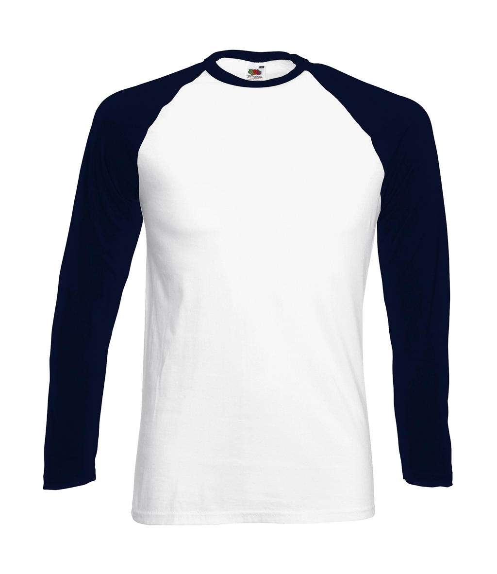 Fruit of the Loom Valueweight Long Sleeve Baseball T