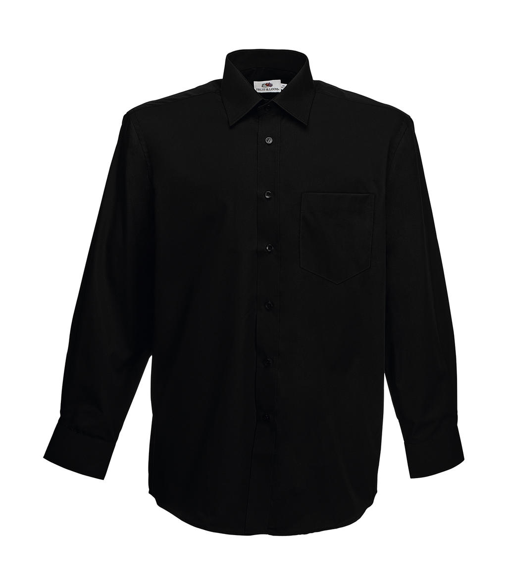 Fruit of the Loom Poplin Shirt Long Sleeve