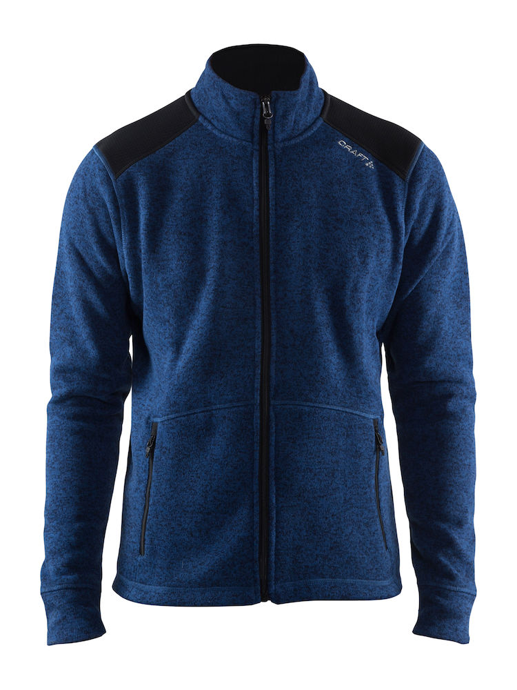 CRAFT NOBLE ZIP JKT HK FLEECE M