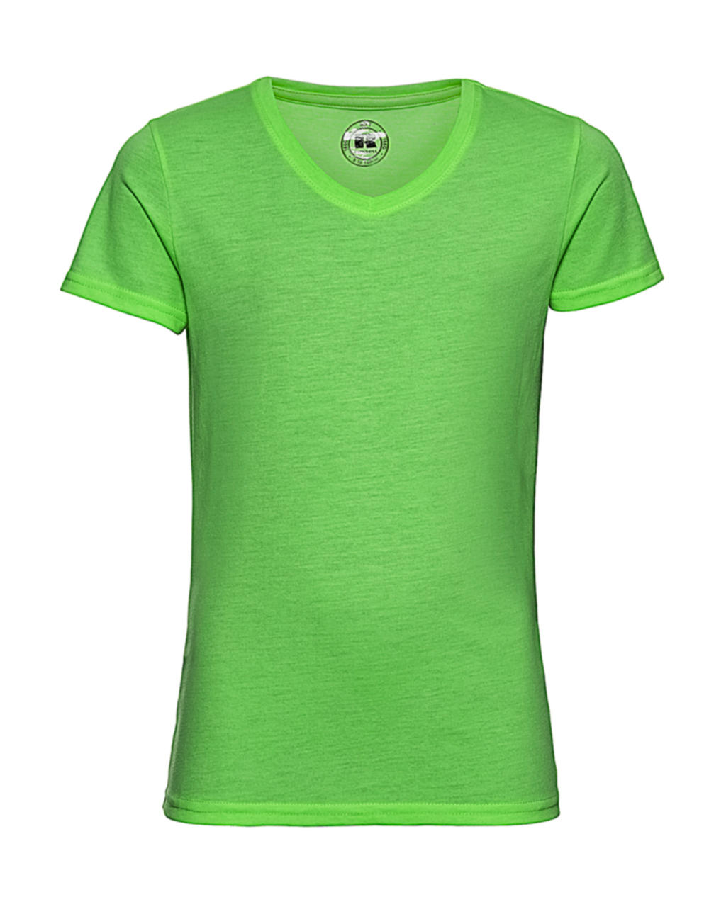 Russell Europe Girls V-Neck HD Tee