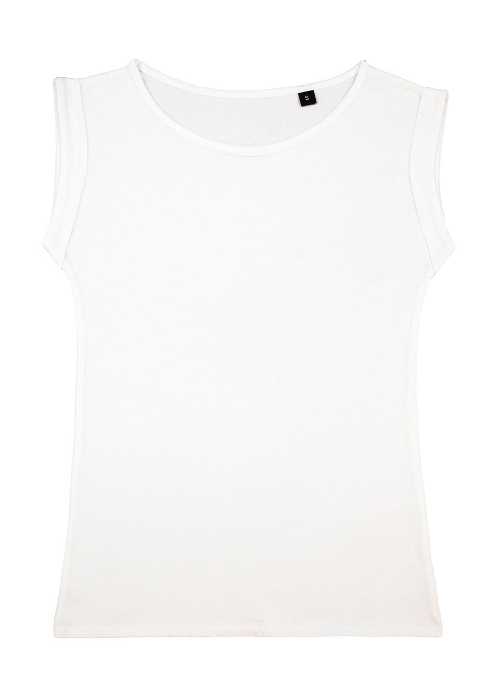 nakedshirt Bessy Rolled Up Sleeve Tank Top