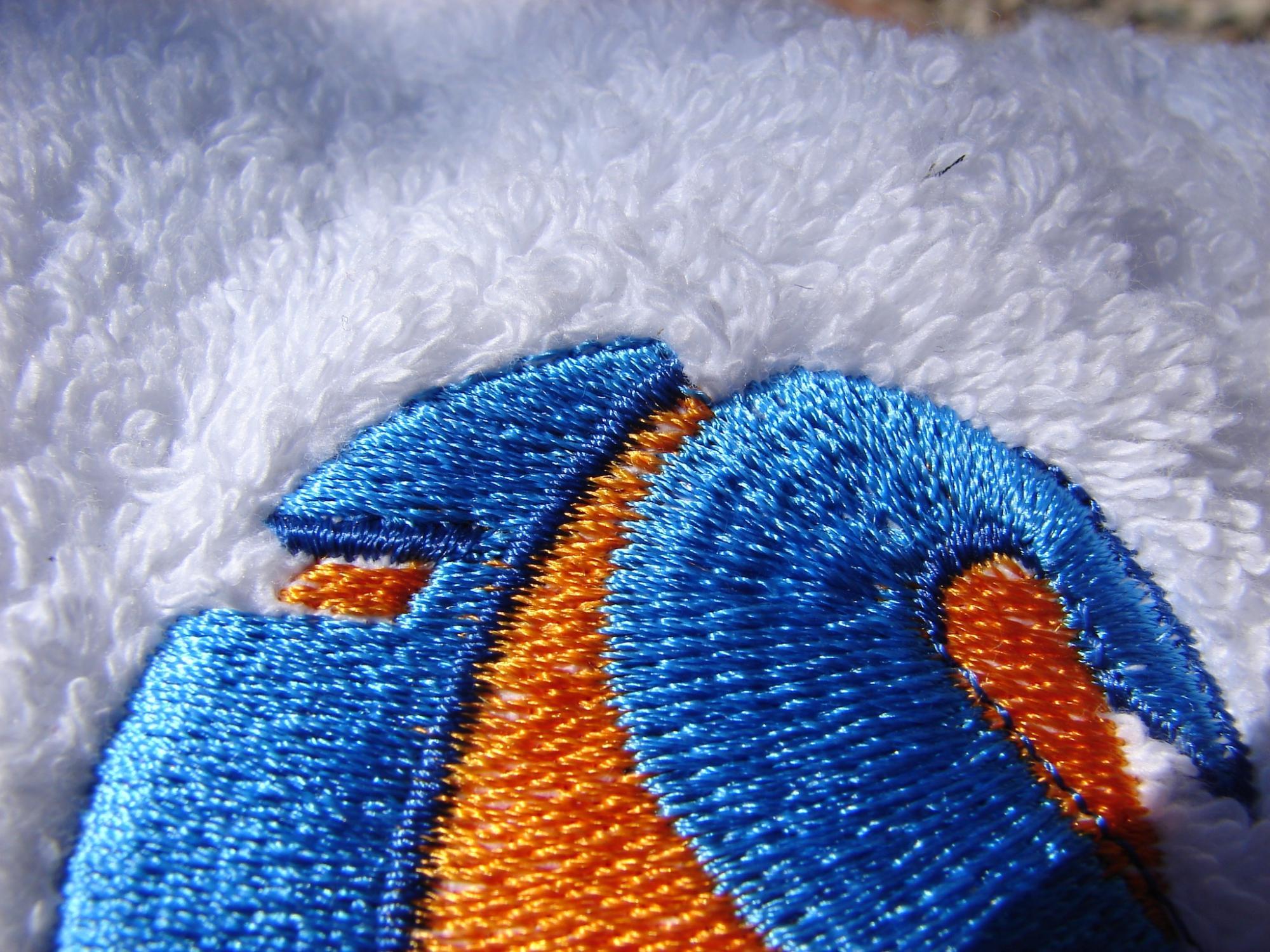 Stick-Handtuch