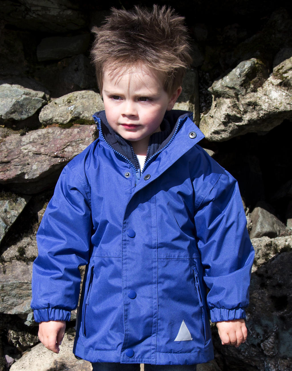 Result Kids` Fleece Wendejacke