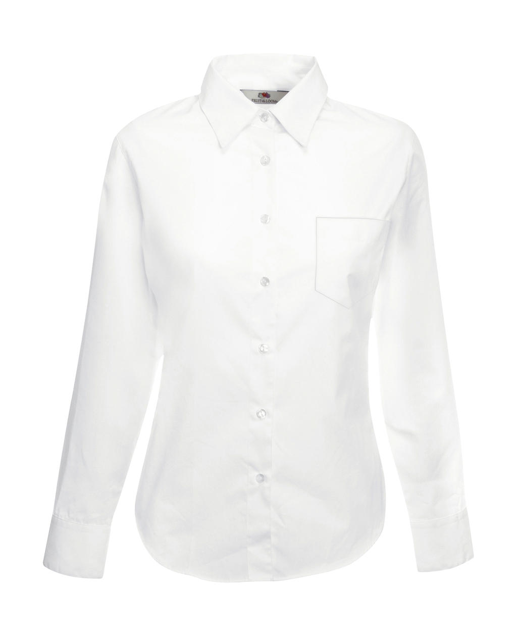 Fruit of the Loom Ladies Poplin Shirt LS