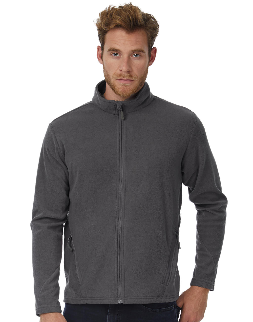 B & C Coolstar/men Fleece Full Zip